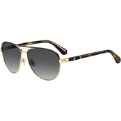 Kate Spade Metal Aviator with Plastic Temples Sunglasses EMILYANN/S