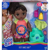 Hasbro Baby Alive Potty Dance Baby Doll, African-American