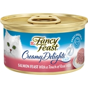 Fancy Feast Creamy Delights Wet Cat Food, 3 oz.