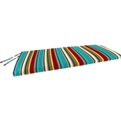 Jordan 18 x 48 x 2 in. Knife Edged Bench Cushion