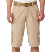 WearFirst Messenger Cargo Shorts with Belt