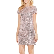 Vince Camuto Mini Paillette Sequin Dress