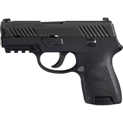 Sig Sauer P320 Sub Compact 9mm 3.6 in. Barrel 12 Rnd Pistol Black