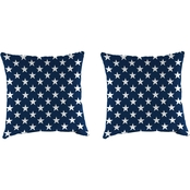 Jordan 18 x 18 in. Pillows 2 pc. Set