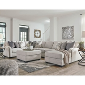 Benchcraft Dellara 5 pc. RAF Corner Chaise Sectional