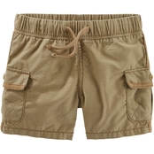OshKosh B'gosh Infant Boys Khaki Cargo Shorts