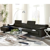 Signature Design by Ashley Tindell 3 Pc. LAF Corner Chaise Sectional