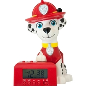 BulbBotz Paw Patrol Marshall 6 in. Alarm Clock
