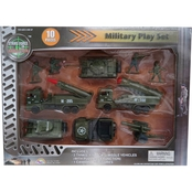 AGGLO CORP LTD 10 pc. Military Playset