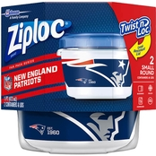 Ziploc NFL Twist 'n Loc Containers 2 ct.
