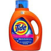 Tide Liquid Laundry Detergent, Fresh Coral Blast 75 oz.