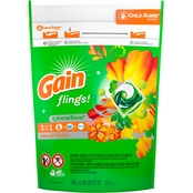 Gain Flings! + Aroma Boost Island Fresh Laundry Detergent Pacs