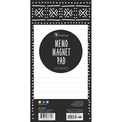TF Publishing Mudcloth and Moroccan Memo Magnet Pad