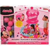 Jakks Pacific Disney Junior Minnie Mouse Big Hearts and Bows Playland