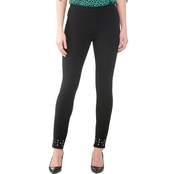 Michael Kors Petite Embellished Leggings