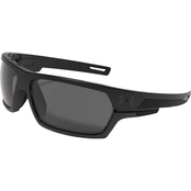 Under Armour UA Battlewrap Storm Satin Polarized Lens Sunglasses 8690081-010108