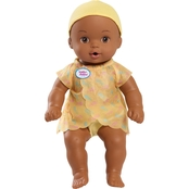 Just Play Waterbabies Magic Wonder Baby Doll, African-American