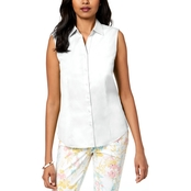 Charter Club Sleeveless Shirt