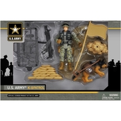 Excite US Army K-9 Playset