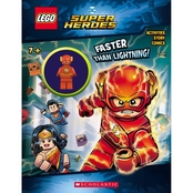 LEGO DC Super Heroes: Faster than Lightning! Activity Book (Hardcover)