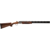 Stevens 555 12 Ga. 28 in. Barrel 2 Rds Shotgun Silver with 5 Choke Tubes