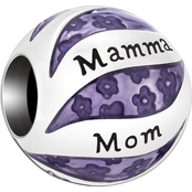 Chamilia Her World Mom in Many Languages Charm
