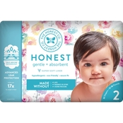 The Honest Company Honest Diaper Rose Blossom Size 2, 40 ct.