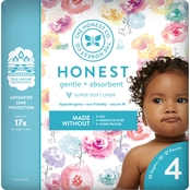 The Honest Company Honest Diaper Rose Blossom Size 4, 29 ct.