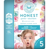The Honest Company Honest Diaper Rose Blossom Size 5, 25 ct.