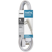 Prime Wire & Cable 7 ft. SnugPlug 3 Outlet Household Extension Cord