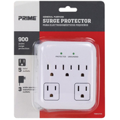 Prime Wire & Cable 5 Outlet 900 Joule Surge Tap