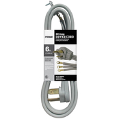 Prime Wire & Cable 6 ft. 10/3 SRDT 30 Amp Dryer Cord