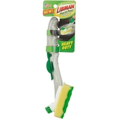 Libman Pot and Pan Scrubbing Dish Wand with Scrub Brush