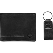 Timberland Nubuck Wallet and Key Fob