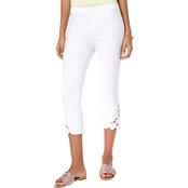 INC International Concepts Cropped Capris with Lace Insert