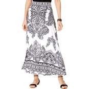 INC International Concepts Printed Maxi Skirt