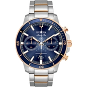 Bulova Men's Marine Star Watch 98B301