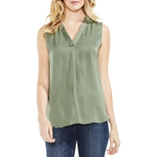 Vince Camuto V Neck Rumple Blouse