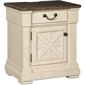 Signature Design by Ashley Bolanburg 2 Tone Nightstand