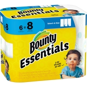 Bounty Essentials Big Roll Select-A-Size White Paper Towels, 6 Pk.