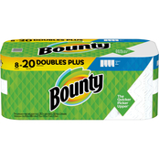 Bounty Select A Size Paper Towels 2 Doubles Plus Rolls