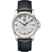 Luminox Men's Dress Field Swiss Quartz Leather Strap Watch 1839