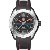 Luminox Men's Space GMT Leather Strap Watch 5127