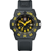 Luminox Men's Navy SEAL Swiss Quartz Date Rubber Strap Watch 3505LUM