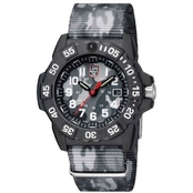 Luminox Men's Navy SEAL Swiss Quartz Date Rubber Strap Watch 3507