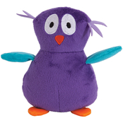 Petmate Zoobilee Plush Owl Dog Toy