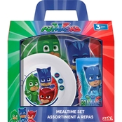 Zak PJ Masks 3 pc. Mealtime Set