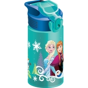 Zak Disney Frozen 16 oz. Water Bottle for Kids, Anna & Elsa