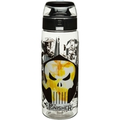 Zak Marvel Comics 25 oz. Water Bottle with Loop, The Punisher