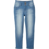 YMI Jeans Girls 3 Button High Rise Anklet Jeans